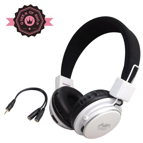 Mrh8809 White Tf Card Fm Radio Monitor Portable Audio Cotton Fabric Beam New Fashion Brand Music Player Wireless Handsfree Headset Headphones Earphone Fm Sport Mp3 Music Player Colorful