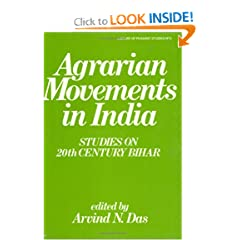 Agrarian Movements in India: Studies on 20th Century Bihar (Library of Peasant Studies)