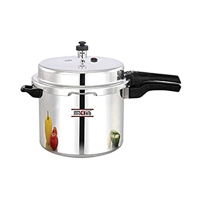 Moksh Pressure Cooker,10 Litres,Silver