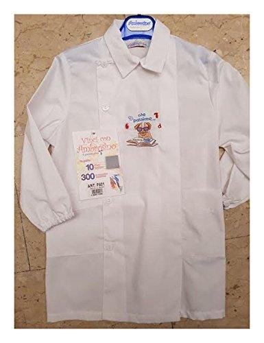 Grembiule AMBROSINO Bianco Asilo Bambino art. F601 - Bianco 3