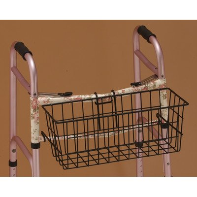 Nova Medicalproducts Hospital Healthcare Daily Living Mobility Aid Accessories Folding Walker Basket 437B front-17936