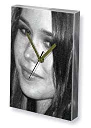 ELLEN PAGE - Canvas Clock (A4 - Signed by the Artist) #js004