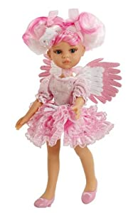 """Amazon.com: Paola Reina Las Amigas Angel Red 12.5"""" Doll (Made in Spain"""