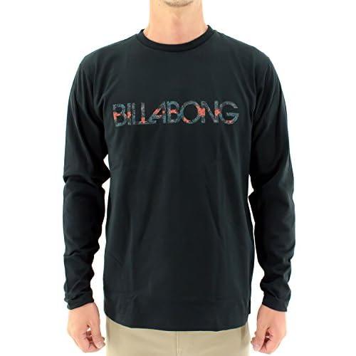 (ビラボン) BILLABONG メンズ長袖Tシャツ AE012-056 BLK L