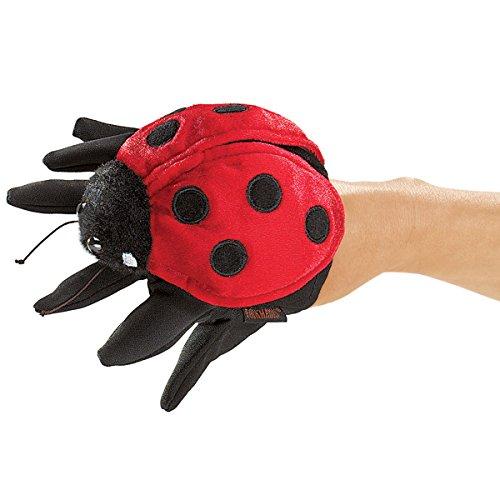 Folkmanis Ladybug Hand Puppet