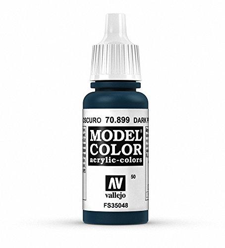 Vallejo Dark Prussian Blue Paint, 17ml - 1
