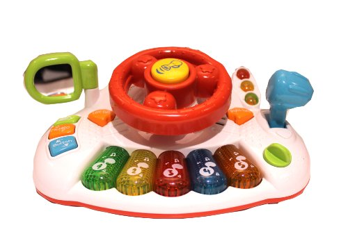 Steering Wheels Of Funny Learning For Toddlers - 1
