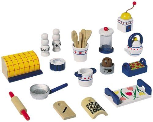 Miniature Set - Doll Kitchen - Buy Miniature Set - Doll Kitchen - Purchase Miniature Set - Doll Kitchen (Selecta, Toys & Games,Categories,Dolls,Accessories)