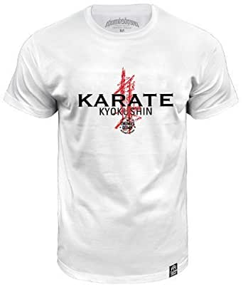 Karate Kyokushin T-shirt. Thumbsdown MMA (size Small)