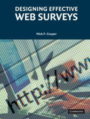 Designing Effective Web Surveys Paperback