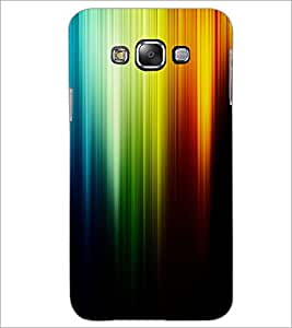 PrintDhaba Rainbow Colours D-2276 Back Case Cover for SAMSUNG GALAXY A8 (Multi-Coloured)