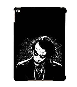 EPICCASE why so serious Mobile Back Case Cover For Apple Ipad Air (Designer Case)