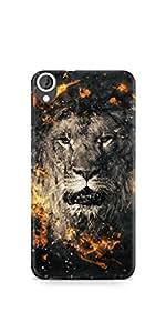Casenation Lion Fury HTC 820 Matte Case