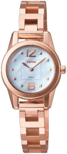 WIRED f (ワイアード エフ) 腕時計 SWEET SOLAR COLLECTION (スウィート ソーラー コレクション) エコテックソーラー AGED001 レディース