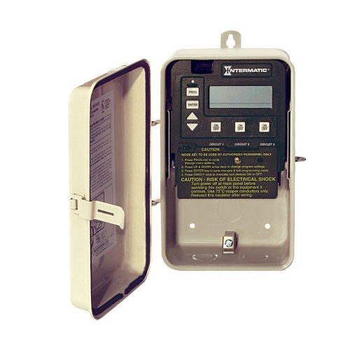 Intermatic PE153 Digital Time Clock In Metal Enclosure (Intermatic Swimming Pool Timer compare prices)