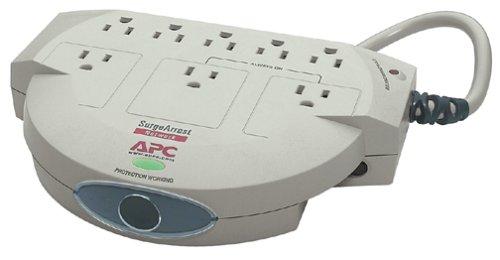 APC NET-8 8-Outlet 6-Feet Cord SurgeArrest Series Network SurgeStation Strip