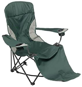 MAC Sports Malibu Infinite Recliner Lounger, Green (Discontinued by Manufacturer)
