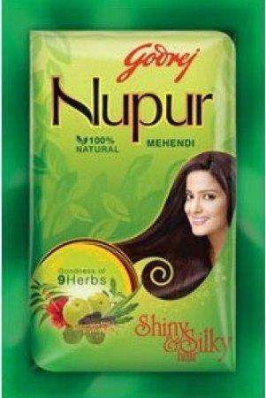 Godrej Nupur Mehendi Henna Powder 9 Herbs Blend, 150-grams(2 Pack)  available at amazon for Rs.1439