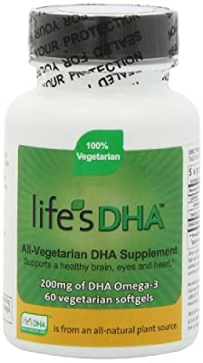 Martek Life's DHA Omega-3 200mg DHA 60 All-Vegetarian Softgels from Martek