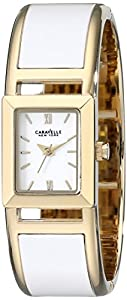 Caravelle New York Women's 44L143 Two-Tone Bangle Watch