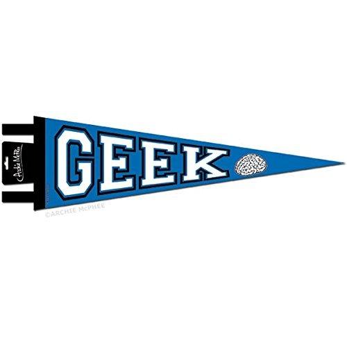 Archie McPhee Geek Pennant