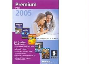 Microsoft Premium 2005 Pack (Incl. Auto Route 2005, Money, Encarta 2005 Standard Edition, Photo Premium 10, Zoo Tycoon Complete Collection) (PC)