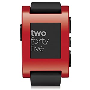 Pebble Smartwatch for iPhone and Android from Pebble Technology Corp