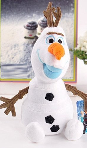Disney Movie Movie Frozen Olaf the Snowman Soft Stuffed Doll Toy 9'' Plush Toys with Tag
