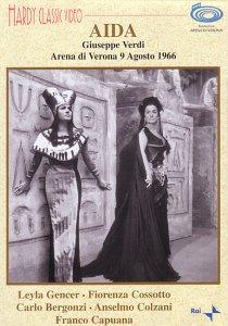 Verdi - Aida (Gencer, Cossotto, Bergonzi) [1966] (NTSC) [DVD]