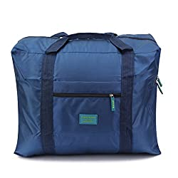 PackNBUY BLUE Foldable Big Travel Carry On Organizer