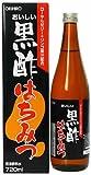 Amazon.co.jpオリヒロ おいしい黒酢 はちみつ 720ml