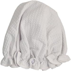 Vagabond Bags Ltd Shower Cap, White Waffle