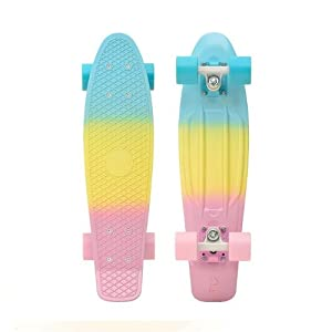 "Penny Complete 2014 22"" Skateboards (Fade Pastel Pink / Yellow / Blue) from Penny"