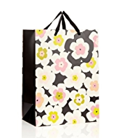 Graphic Floral Large Gift Bag