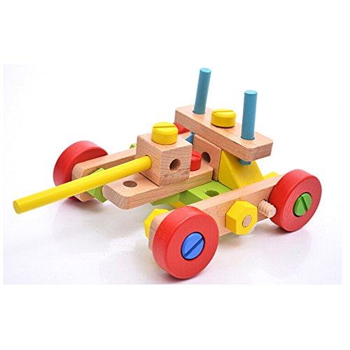 Toys For 45 Year Olds : Rolimate wooden variety nut combination toy for kids