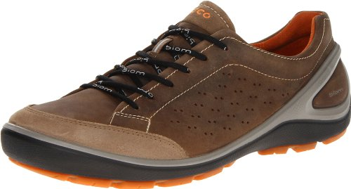 Ecco Mens Biom Grip Dark Clay/Cocoa Br O.Sue/Jamel Lace-Ups Brown Braun (NAVAJO BROWN/NAVAJO BROWN) Size: 44