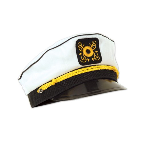 Yacht Captain's Cap Party Accessory (1 count)