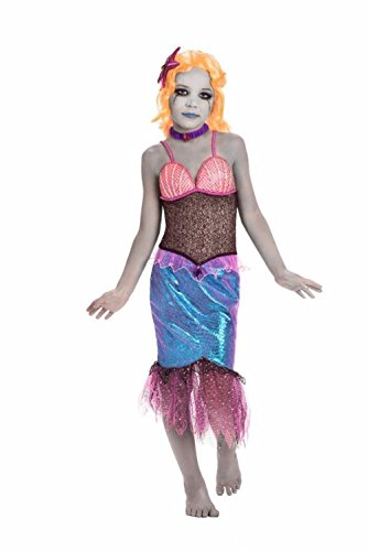 Zombie Little Mermaid Costume (Kids)