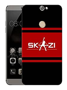 """Skazi MusicPrinted Designer Mobile Back Cover For """"Coolpad Max"""" (3D, Matte, Premium Quality Snap On Case)"""