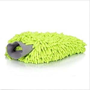 Chenille Microfiber Car Kitchen Household Wash Washing Cleaning Glove Mit