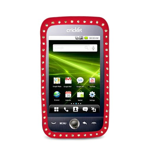 Hw M860 Diamond Skin Case, Red 03
