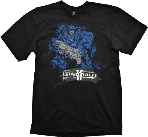 Starcraft-II-Camiseta-para-hombre-talla-S-Importado-de-Alemania