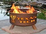 Patina-Products-F233-30-Inch-Texas-Tech-Fire-Pit