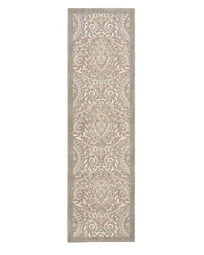 "Nourison Hinsdale Rug, Feather, 2' 3"" x 8' Runner"