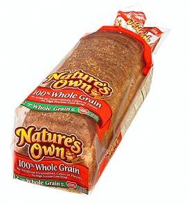 NATURES OWN WHOLE GRAIN BREAD 100% PER LOAF 20 OZ (Whole Grain Bread compare prices)