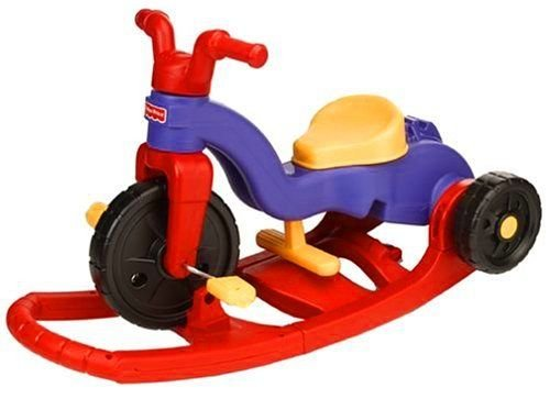 Fisher-Price-Rock-N-Roll-Toddler-Kids-Trike-Bike-Tricycle-Red