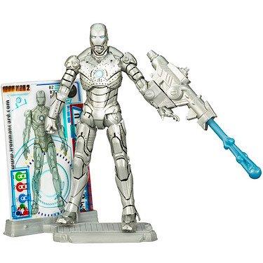 Iron Man Movie Wave 1 Iron Man Mark II Action Figure (Iron Man Mark 1 compare prices)