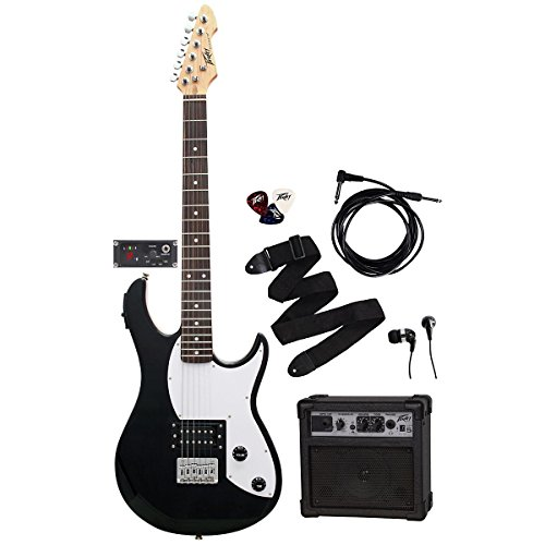 Peavey Rockmaster5In1Bk 5-Watt Electric Guitar With Gt5 Channel Power Amplifier