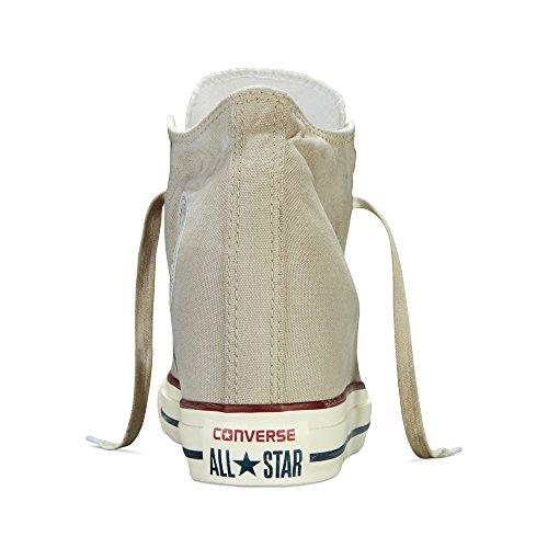 Converse Chuck Taylor Lux Mid 547194C Turtle Dove/Beige Hidden Platform Wedge Women's Shoes (size 8)