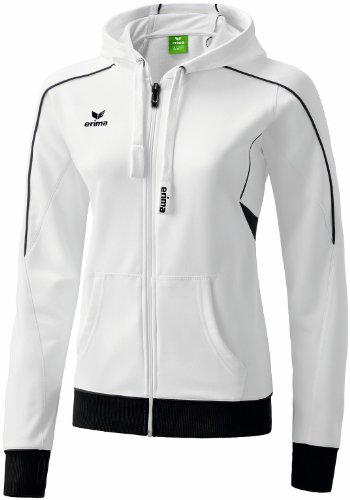veste-a-capuche-gold-medal-femme-fr38-blanc-blanc-noir